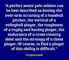How to describe polo. More