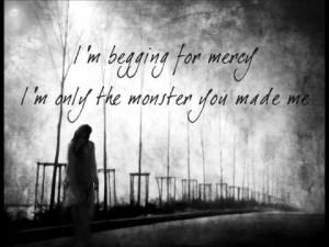 Monster You Made Pop Evil Lyrics Video Clip