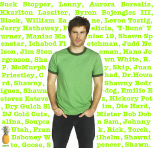 Shawn Spencer Psych Quotes