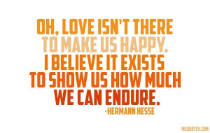 Quote about love by Hermann Hesse
