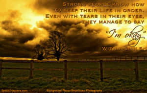 Strong People: A Quote (seemingly) About Special Needs Family (Friday ...
