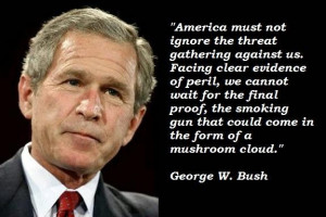 ... of George W. Bush. Do you believe George W Bush is a good man