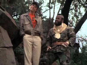 Hannibal and Murdock - the A-Team's two crazymen