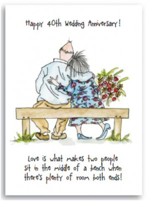 rose 40th wedding anniversary cr444 happy 40th wedding anniversary ...