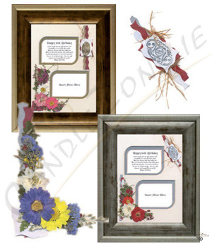Happy 90th Birthday 8x6 Verse Photo Frame