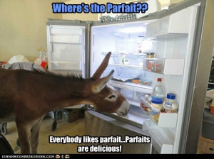 ! Parfaits are delicious!
