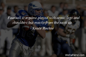 American Football Quotes and Sayings