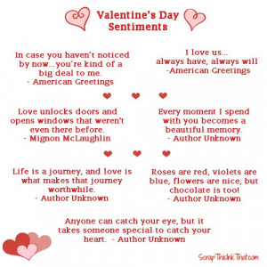Valentines Day Cards Sayings