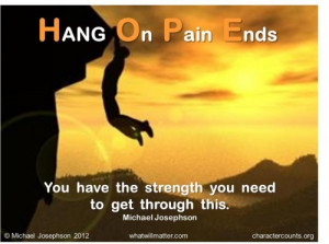 QUOTE & POSTER: HOPE- You have the strength you need to get