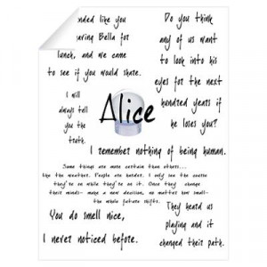 Alice Quotes Wall Decal