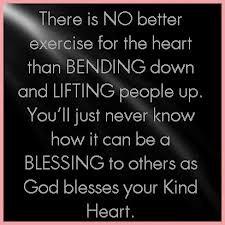 The Heart Than Bending Down...