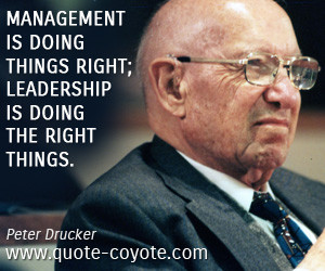 Peter Drucker Management Peter drucker. management is