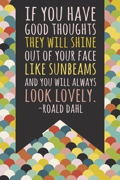 Your smile is like a sunbeam!