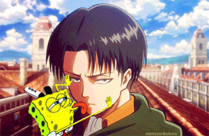 Spoof on Levi in Attack on Titan 1 /7