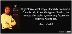 Regardless of what people ultimately think about Crazy As Hell, It's ...