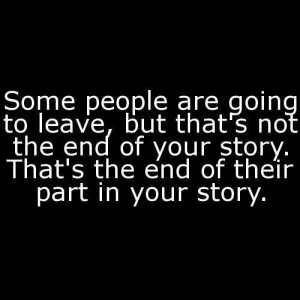 Some people are going to leave, but that's not the end of the story.
