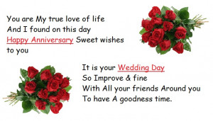 Happy marriage anniversary quotes for couple