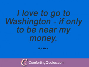 Bob Hope Sayings