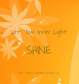 Let your inner light shine peak wellness counseling services, llc
