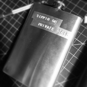 Sippin on private stock flask biggie smalls notorious big juicy