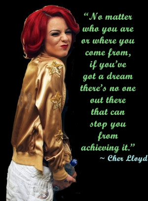 Related Pictures cher lloyd quotes on tumblr