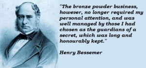 Henry bessemer famous quotes 5