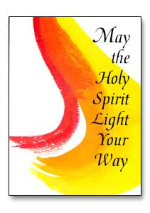 May the Holy Spirit...' Confirmation Greeting Card