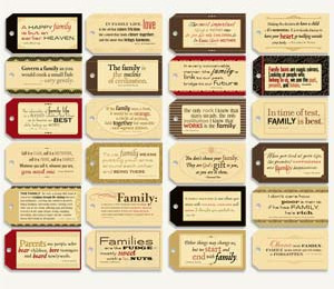 Gypsies - Tag Quotes Pack - Family