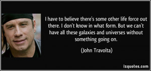 More John Travolta Quotes