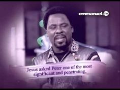 Love Is The Greatest - TB Joshua More