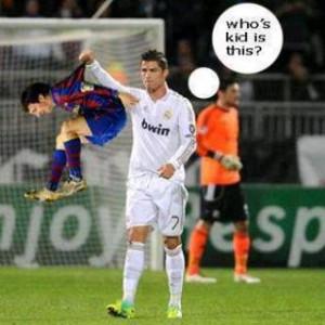 Cristiano Ronaldo Vs Lionel Messi Funny