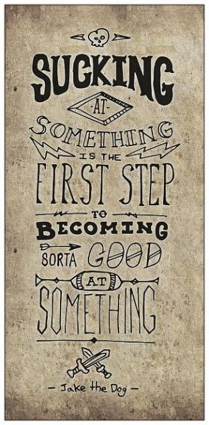 First steps...