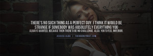in love with the perfect guy quote