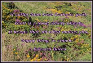 Edward Burns on Irish Catholic guilt