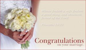 Marriage Congratulations Ecard