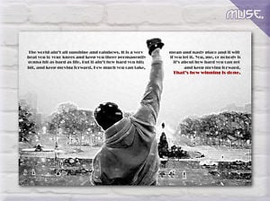 Rocky-Balboa-Quotes-Movie-Film-Canvas-Print-Wall-Art-Deco-We-Did-It