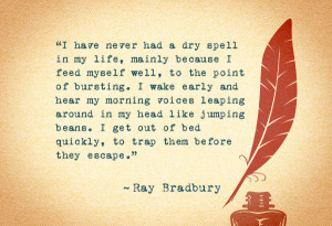 Related Pictures ray bradbury quote don t think thinking is the enemy ...