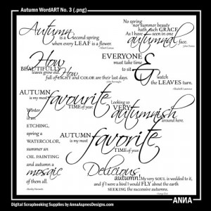 Autumn Sayings