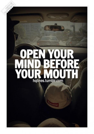Open Your Mind Quotes