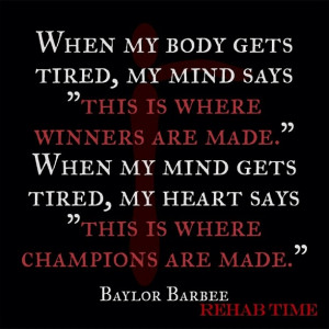 Back > Gallery For > Heart Of A Champion Quotes