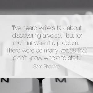 Sam Shepard | #quote