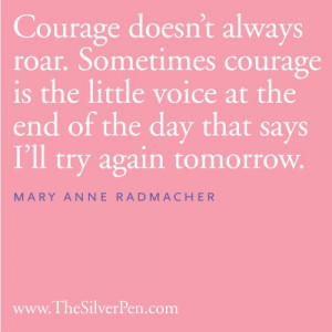Breast Cancer Quotes From Survivors http://www.thesilverpen.com/2012 ...