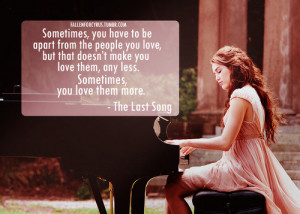 quotes,miley,love,girl,quote,the,last,song ...