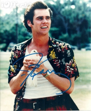 Ace Ventura Pet Detective Card Jim-carrey-signed-photo-ace- ...