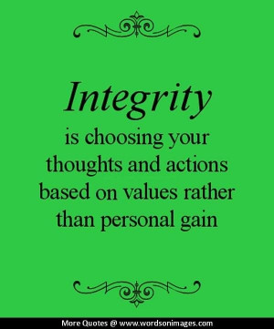 Quotes about inte...