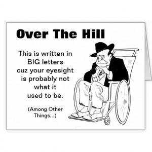 over_the_hill_man_in_wheelchair_old_fart_birthday_card ...