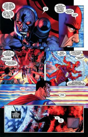 Darkseid Kills Orion And where darkseid fired