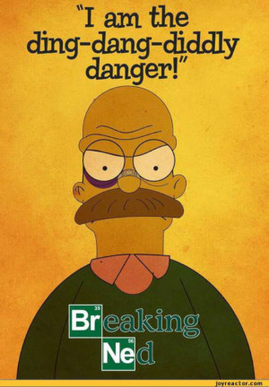 Ned Flanders Breaking Bad-W630