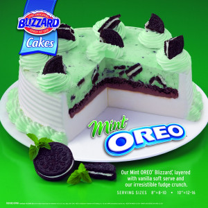 Dairy Queen Cakes Flavors...