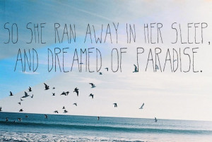 Coldplay - Paradise | Quotes